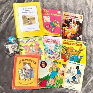13 classic vintage children's books 60's-90's